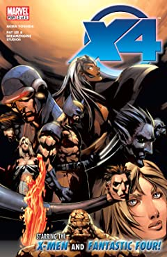 X-Men / Fantastic Four (2005) #5 (of 5)