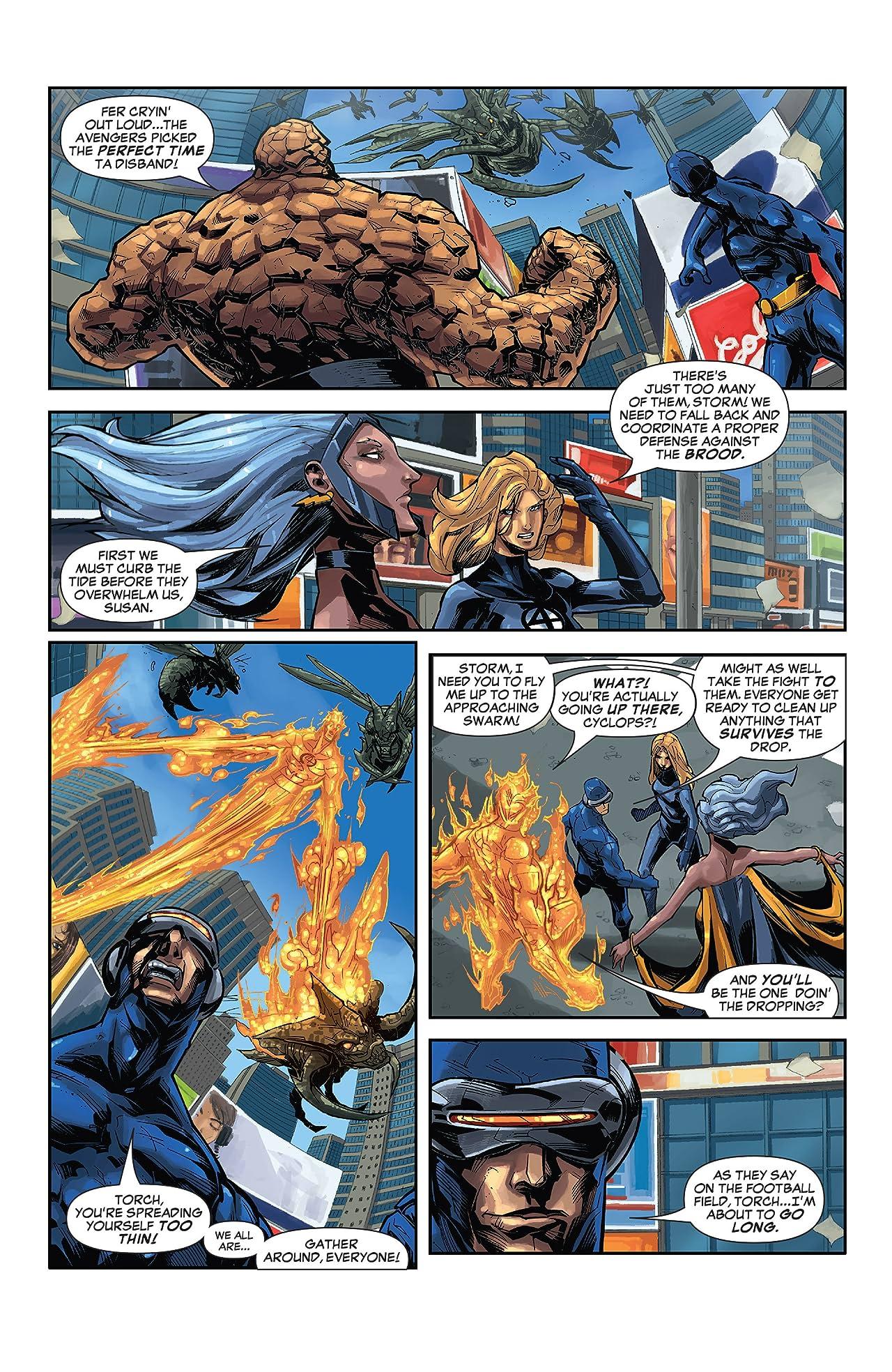 X-Men / Fantastic Four (2005) #5 (of 5)