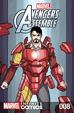 Marvel Universe Avengers Infinite Comic #8