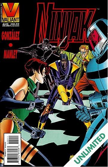 Ninjak (1994-1995) #20