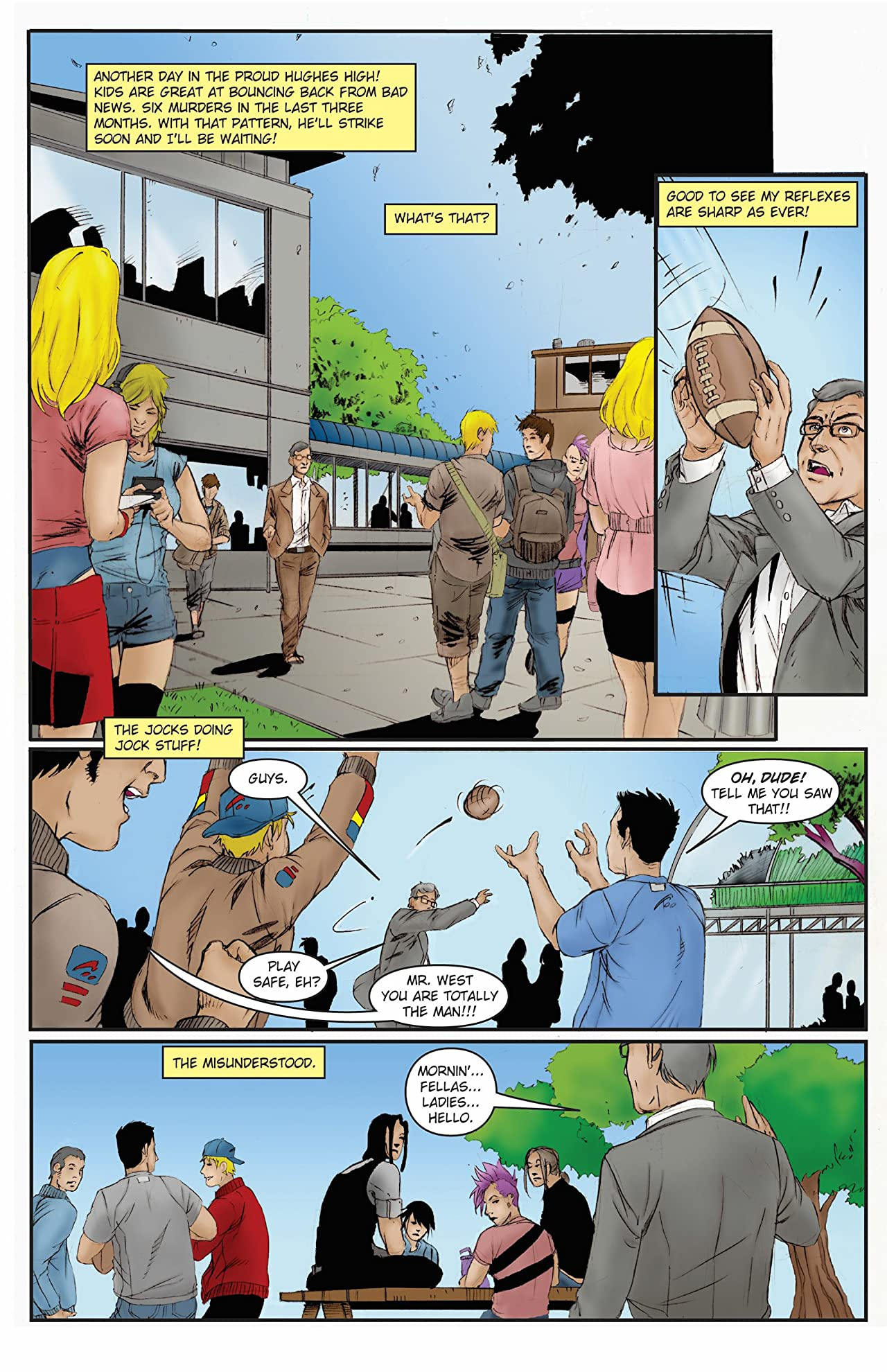 Mis-adventures of Adam West: Ongoing #7