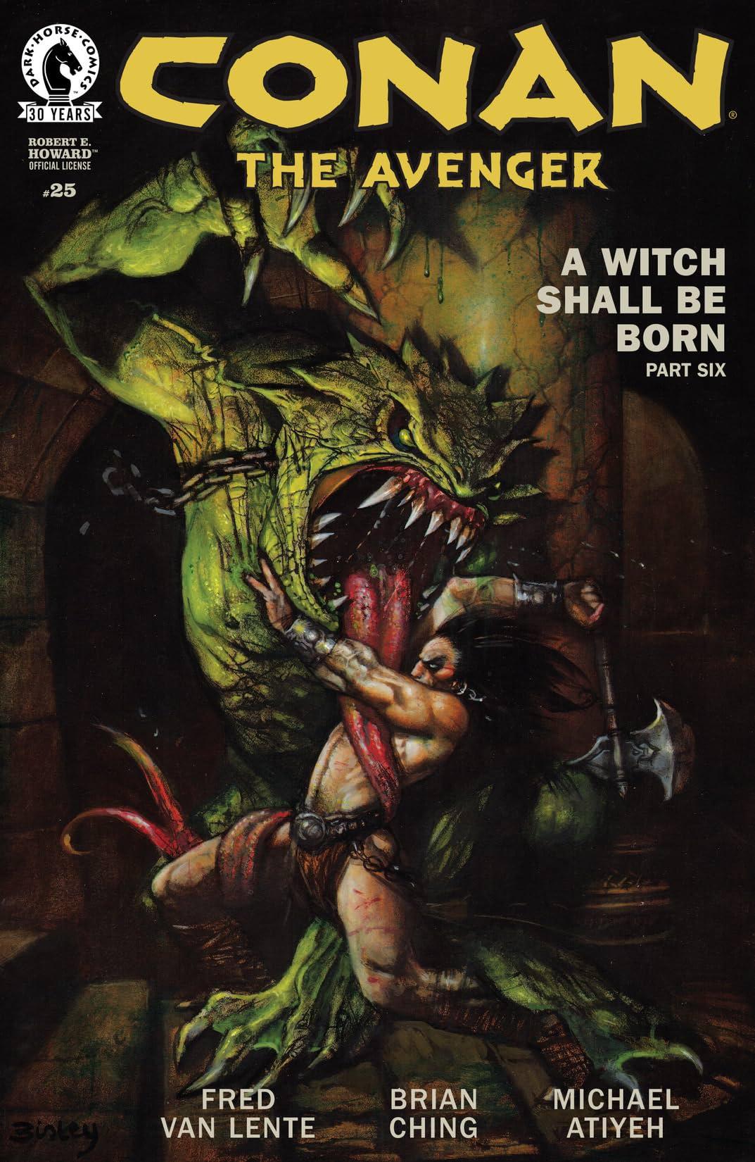 Conan the Avenger #25
