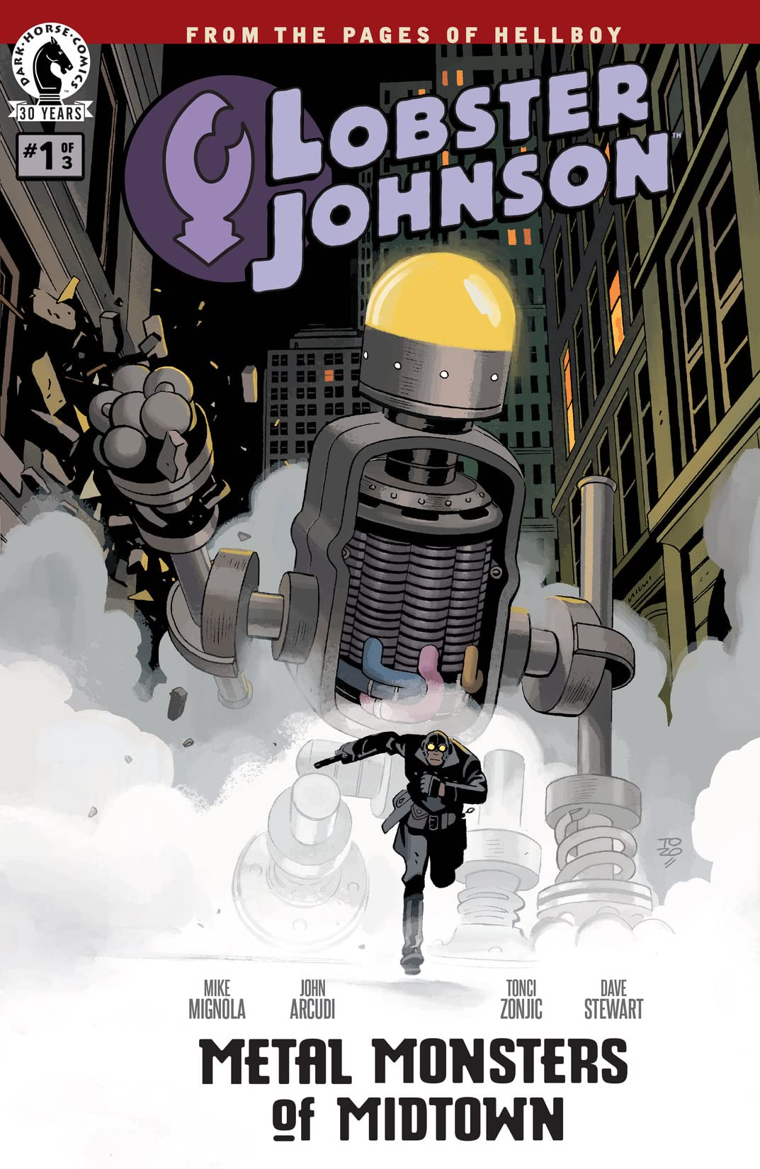Lobster Johnson: Metal Monsters of Midtown #1