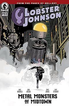 Lobster Johnson: Metal Monsters of Midtown #1