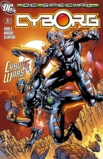 DC Special: Cyborg (2008) #3 (of 6)