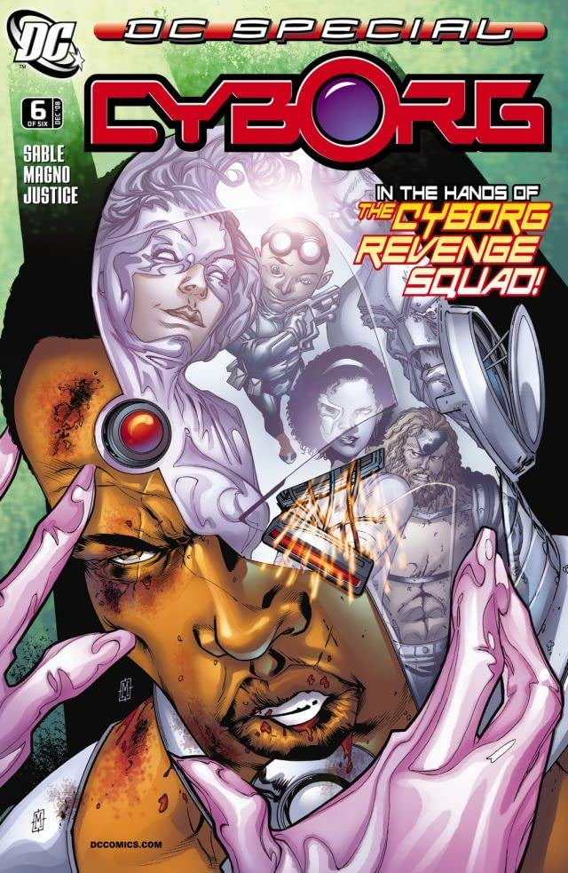 DC Special: Cyborg (2008) #6 (of 6)