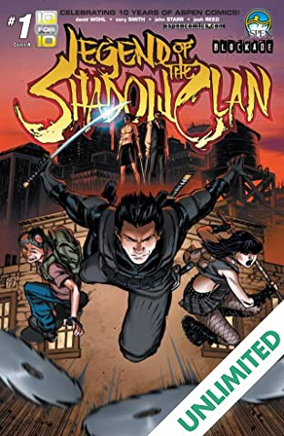 Legend of The Shadow Clan #1 (of 5)