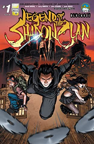 Legend of The Shadow Clan No.1 (sur 5)