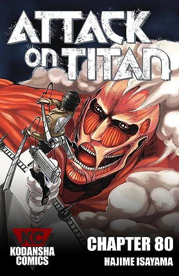 Attack on Titan #80