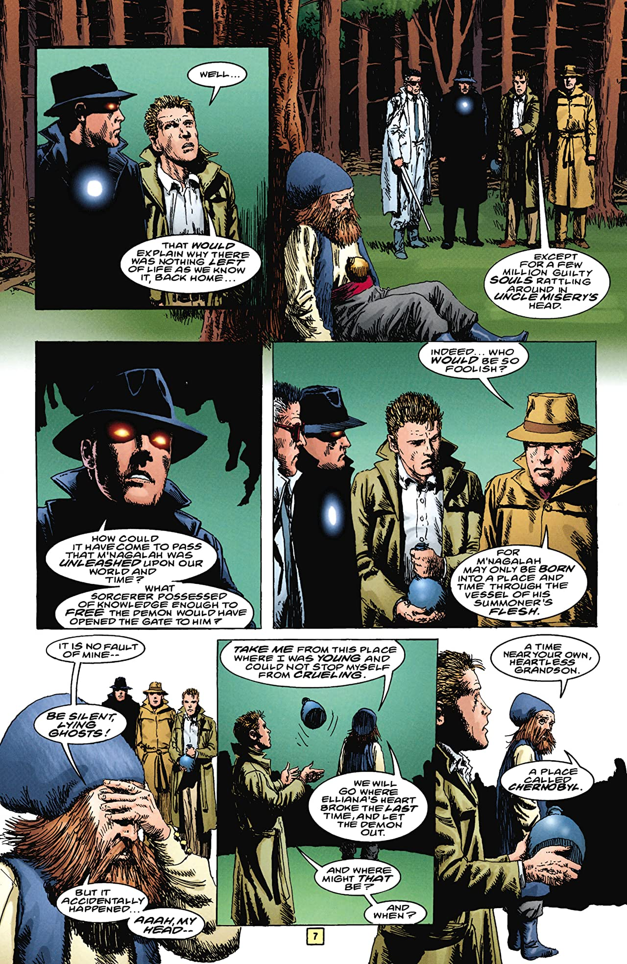 The Trenchcoat Brigade #4 (of 4)