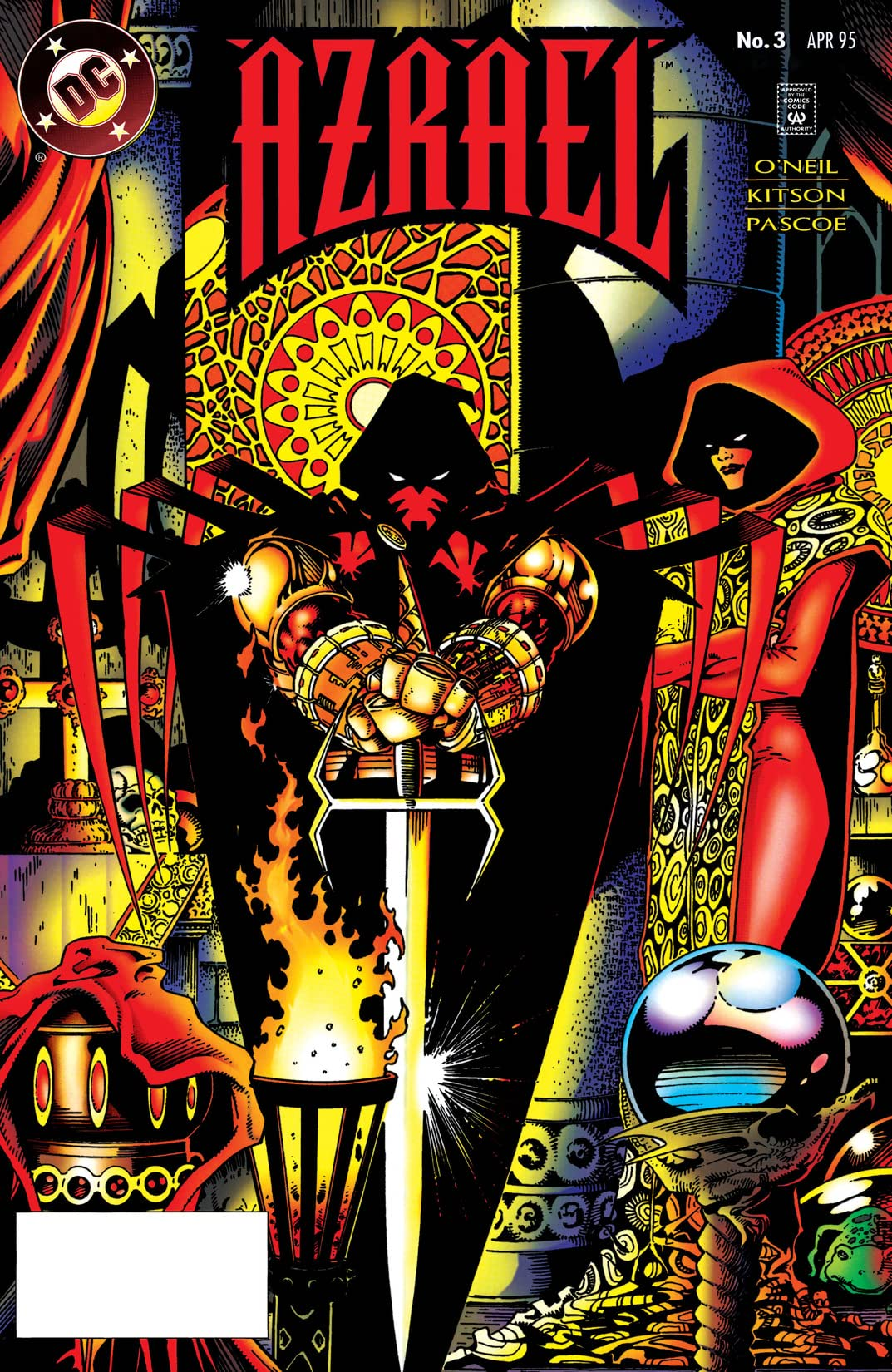 Azrael: Agent of the Bat (1995-2003) #3