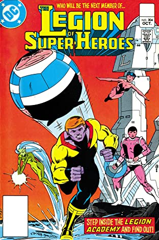 Legion of Super-Heroes (1980-1985) #304