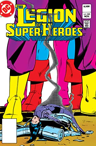 Legion of Super-Heroes (1980-1984) #305