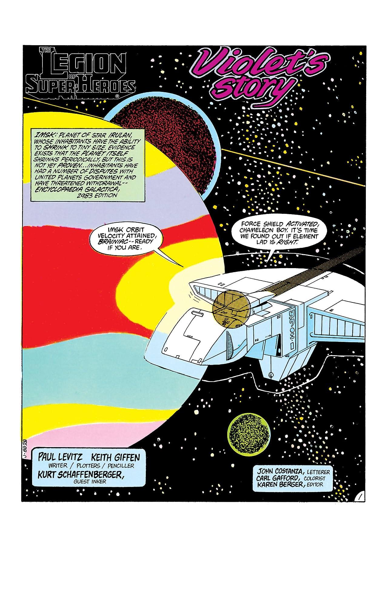 Legion of Super-Heroes (1980-1985) #305