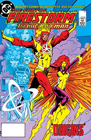 The Fury of Firestorm (1982-1990) #22