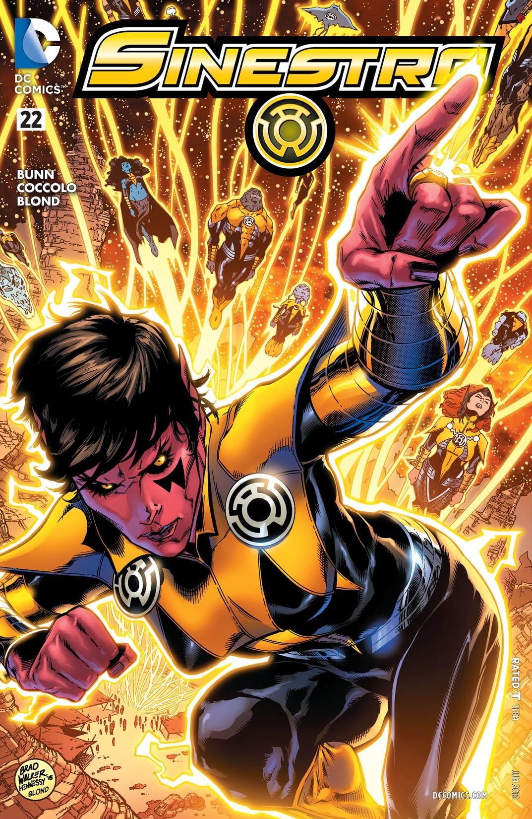 Sinestro (2014-2016) #22