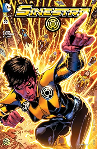 Sinestro (2014-) #22