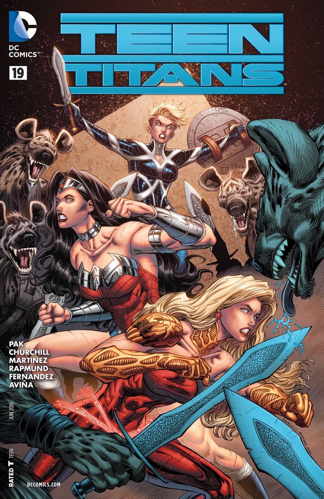 Teen Titans (2014-2016) #19