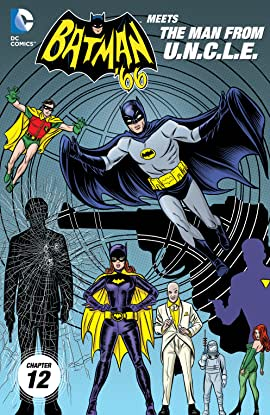 Batman '66 Meets the Man From UNCLE (2015-2016) #12