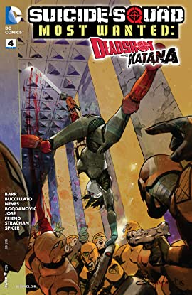 Suicide Squad Most Wanted: Deadshot and Katana (2016) #4