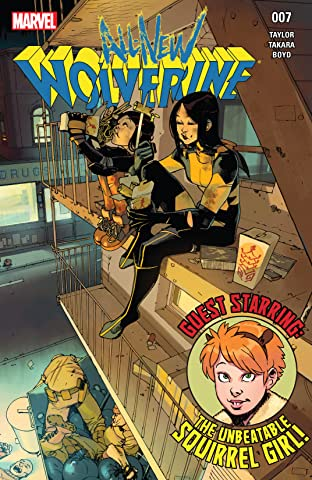 All-New Wolverine (2015-2018) No.7