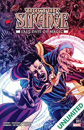 Doctor Strange: Last Days of Magic (2016) #1