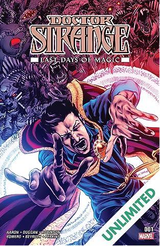 Doctor Strange: Last Days of Magic (2016) #1