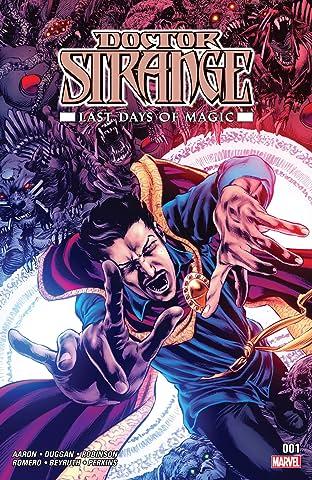 Doctor Strange: Last Days of Magic (2016) No.1