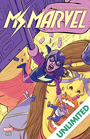 Ms. Marvel (2015-2019) #6