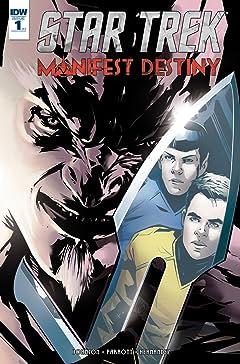 Star Trek: Manifest Destiny No.1 (sur 4)