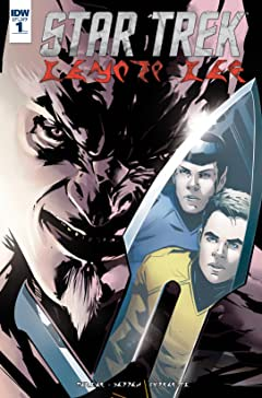 Star Trek: Manifest Destiny No.1: Klingon Language Edition