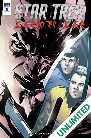 Star Trek: Manifest Destiny #1: Klingon Language Edition