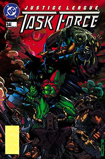 Justice League Task Force (1993-1996) #34