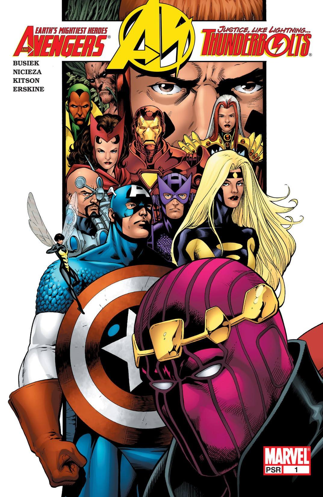 Avengers/Thunderbolts (2004) No.1 (sur 6)