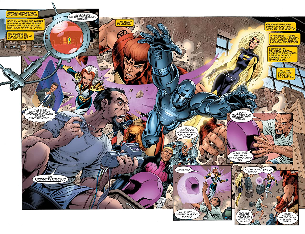 Avengers/Thunderbolts (2004) #3 (of 6)
