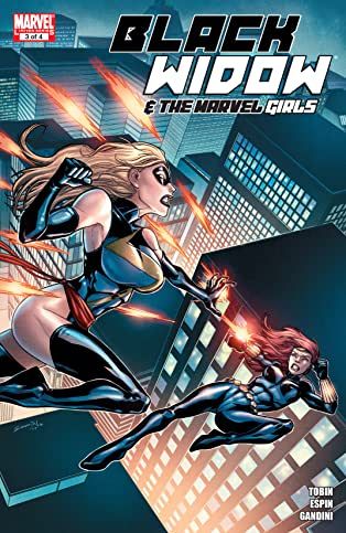Black Widow and the Marvel Girls (2009-2010) #3 (of 4)