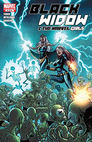 Black Widow and the Marvel Girls (2009-2010) #4 (of 4)