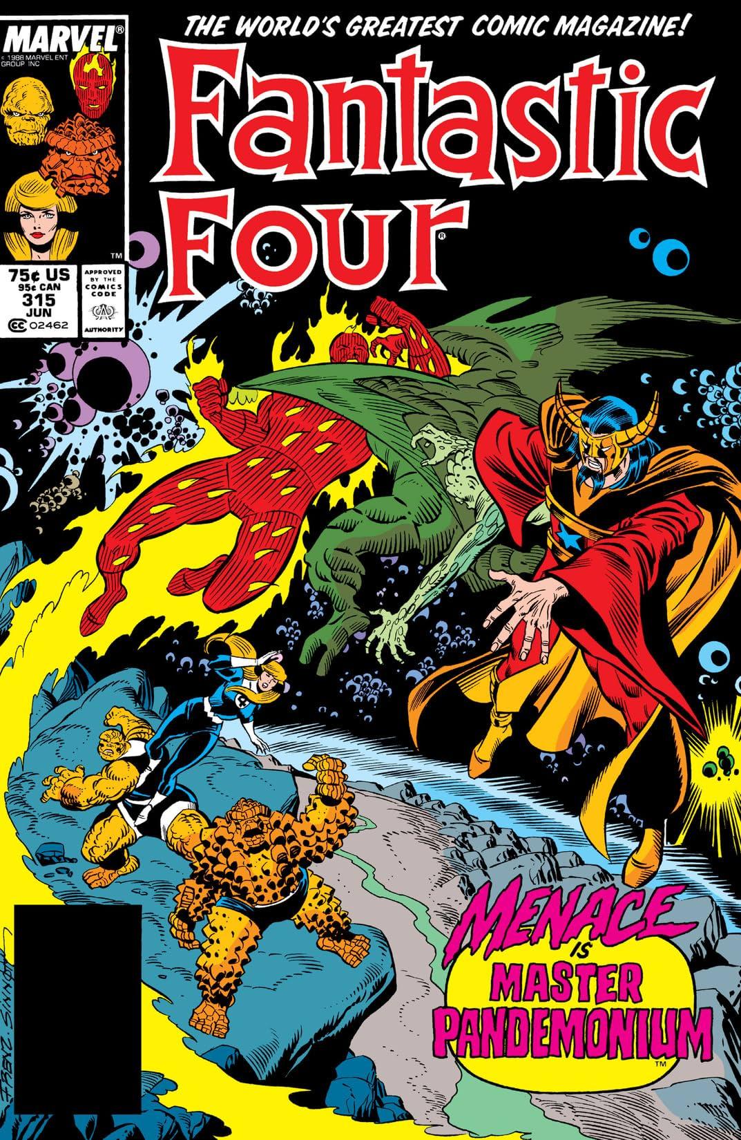 Fantastic Four (1961-1998) #315