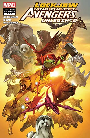 Lockjaw and the Pet Avengers Unleashed (2010) No.1 (sur 4)