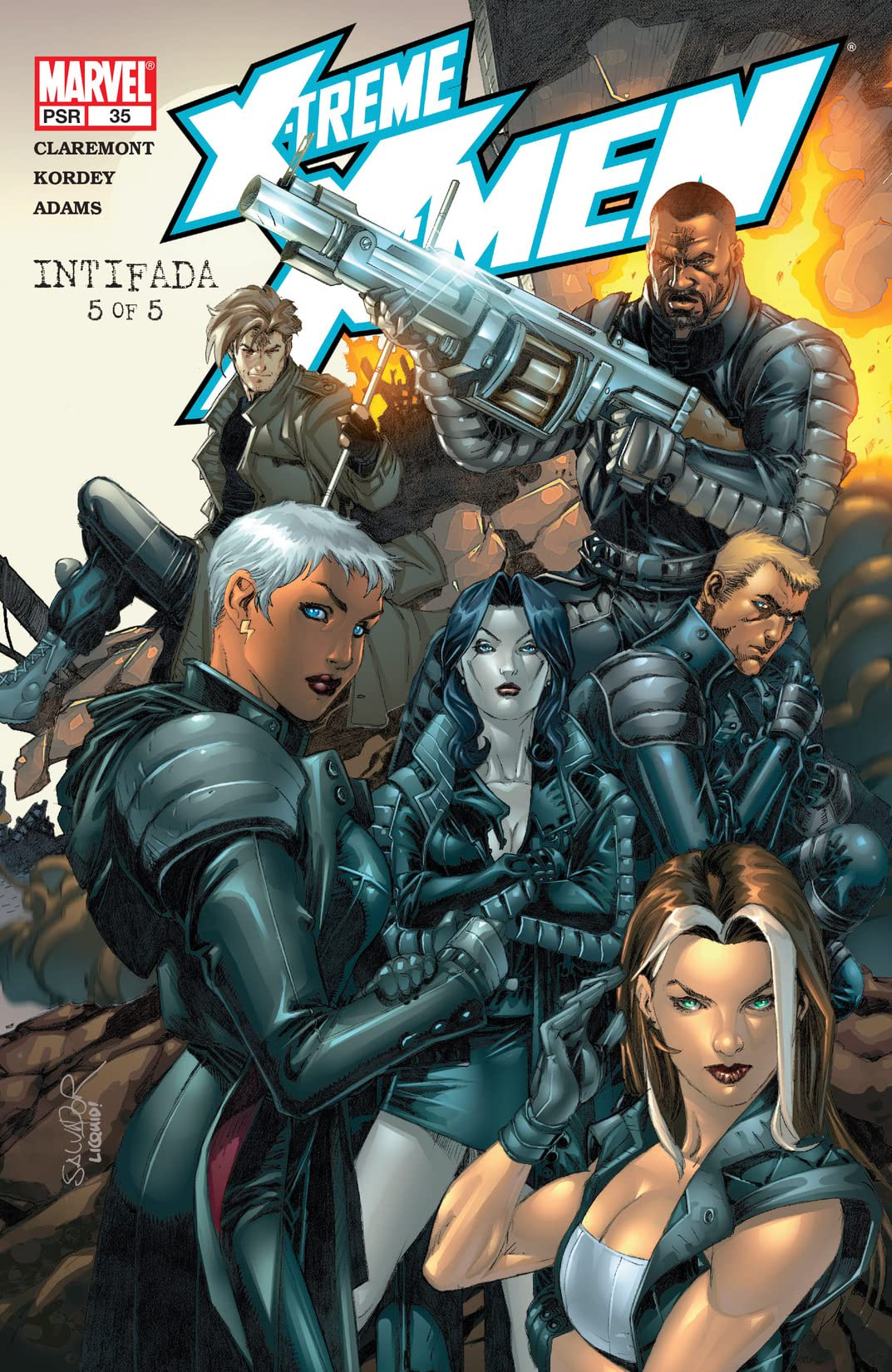 X-Treme X-Men (2001-2003) #35