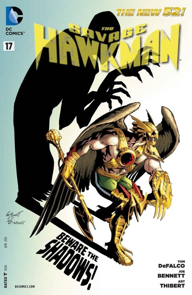 The Savage Hawkman (2011-2013) #17