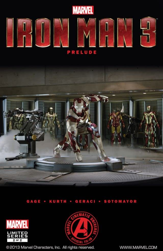 Marvel's Iron Man 3 Prelude #2
