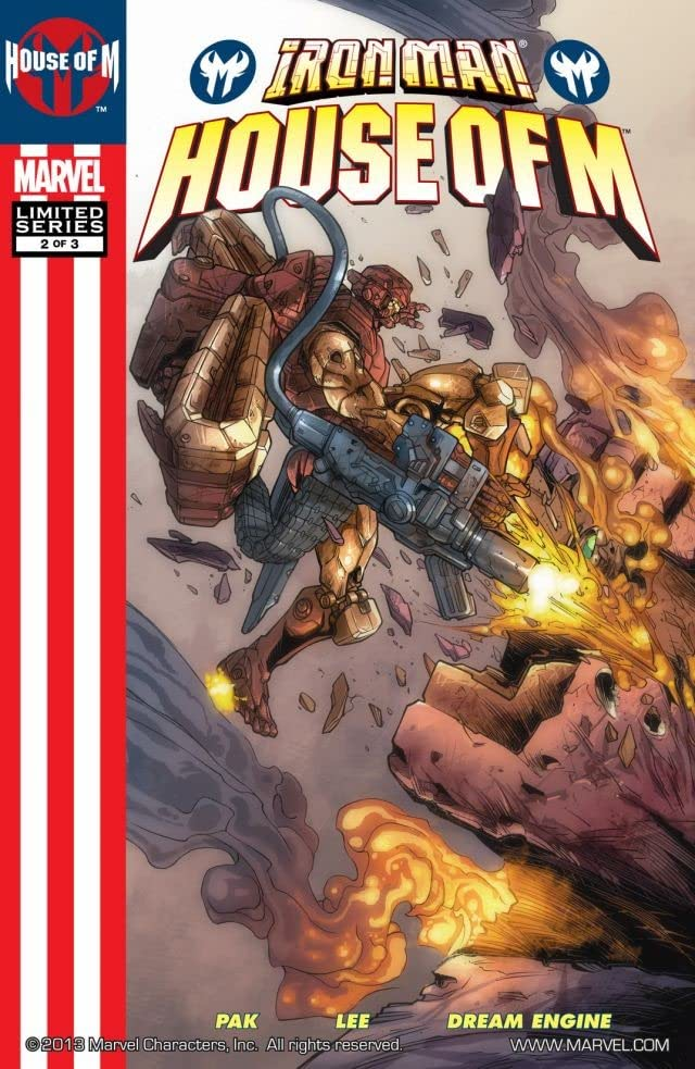Iron Man: House Of M #2 (of 3)