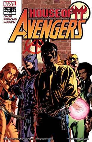House of M: Avengers No.1 (sur 5)