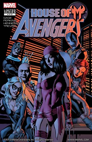House of M: Avengers No.4 (sur 5)