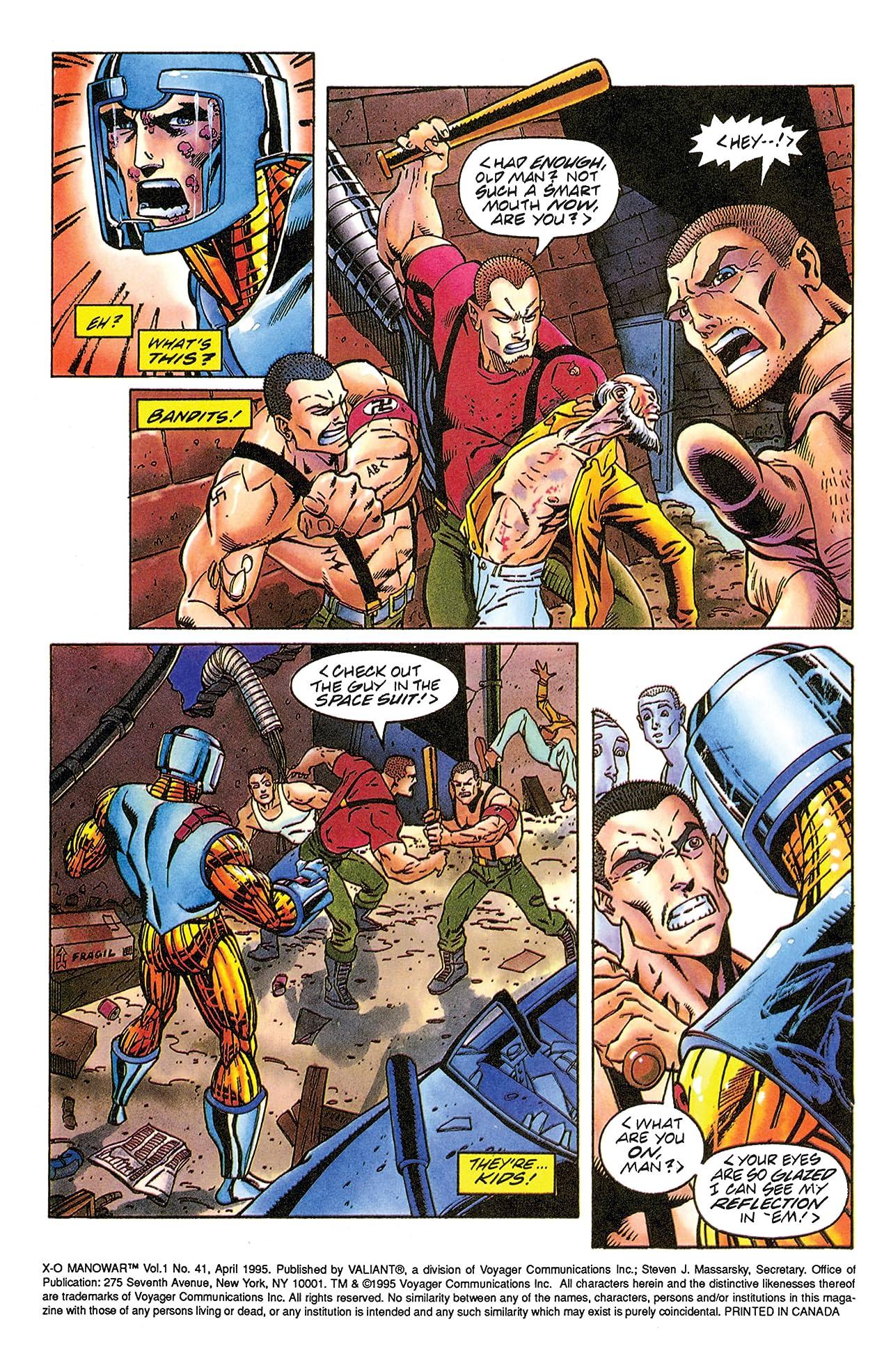 X-O Manowar (1992-1996) #41