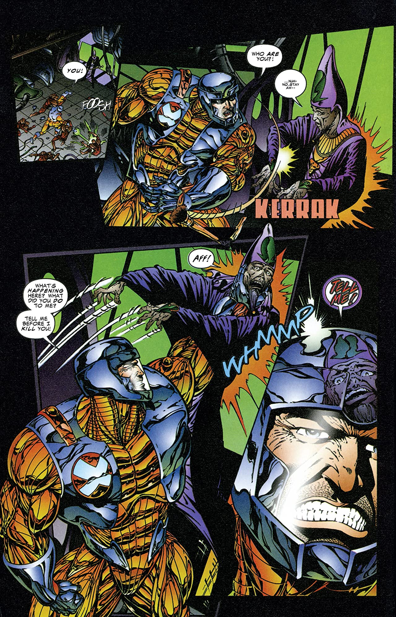 X-O Manowar (1992-1996) #46