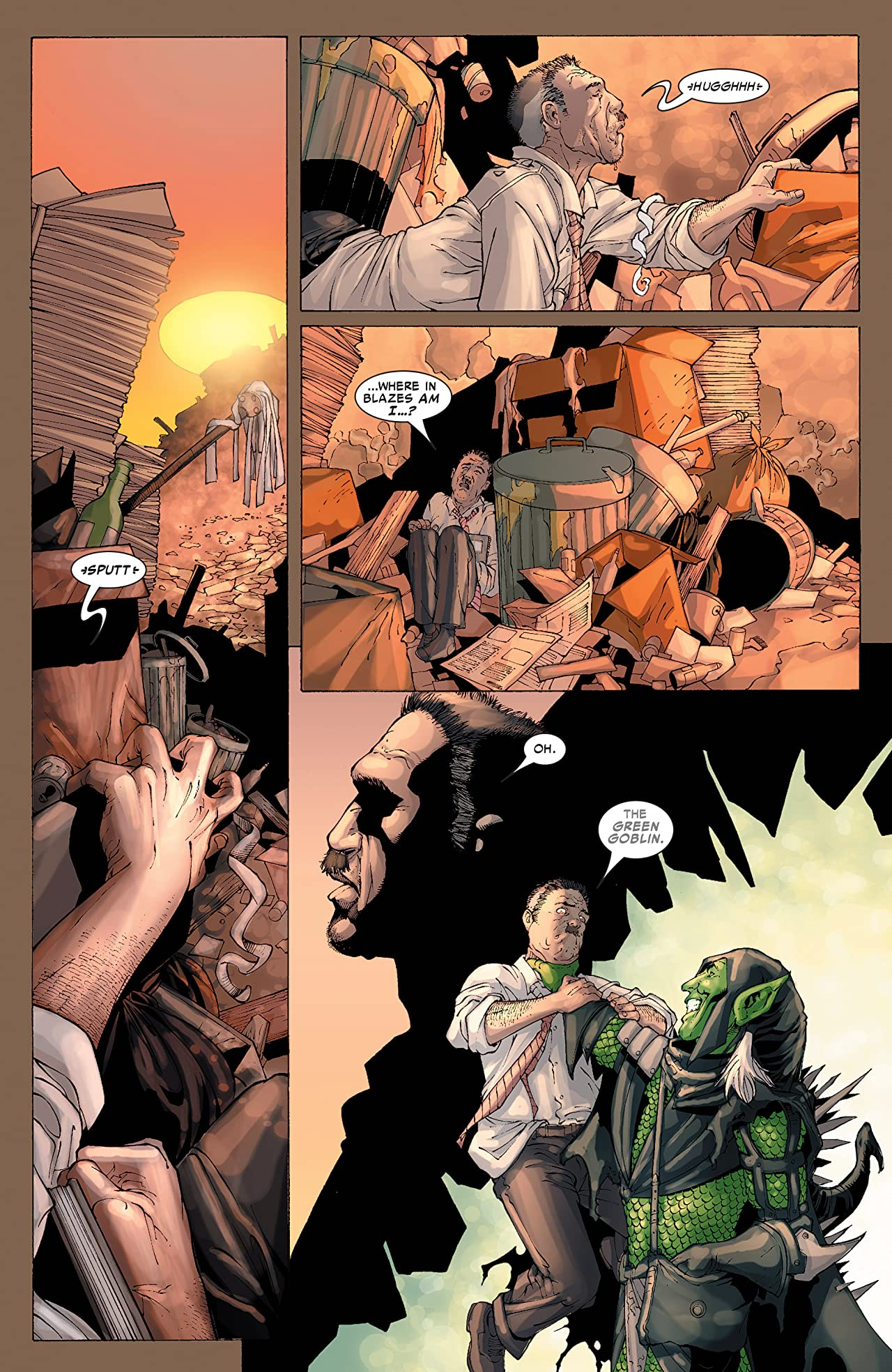 House of m green goblin -  Spider Man House Of M 2 Of 5