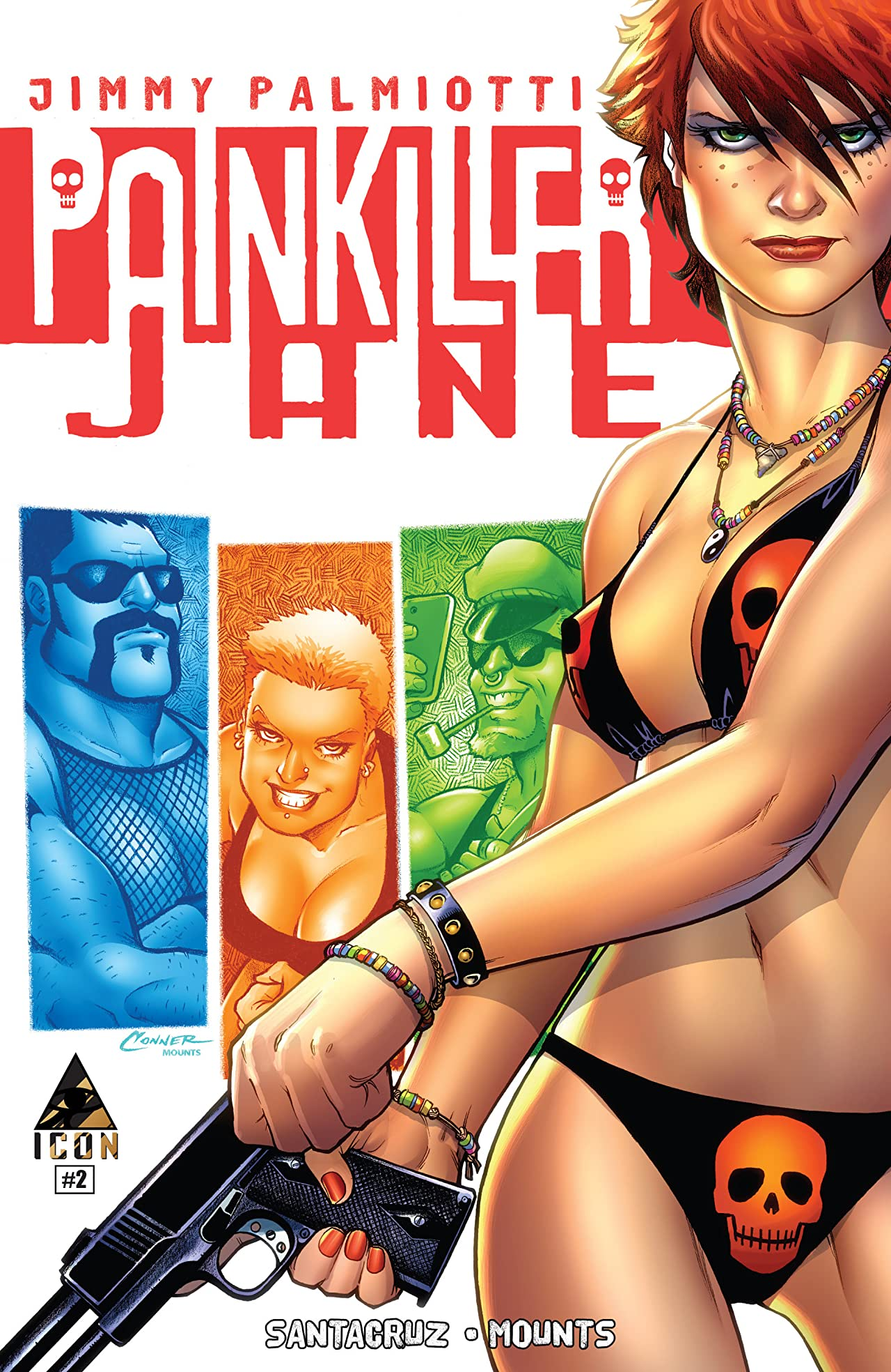 Painkiller Jane: The Price of Freedom #2 (of 4)