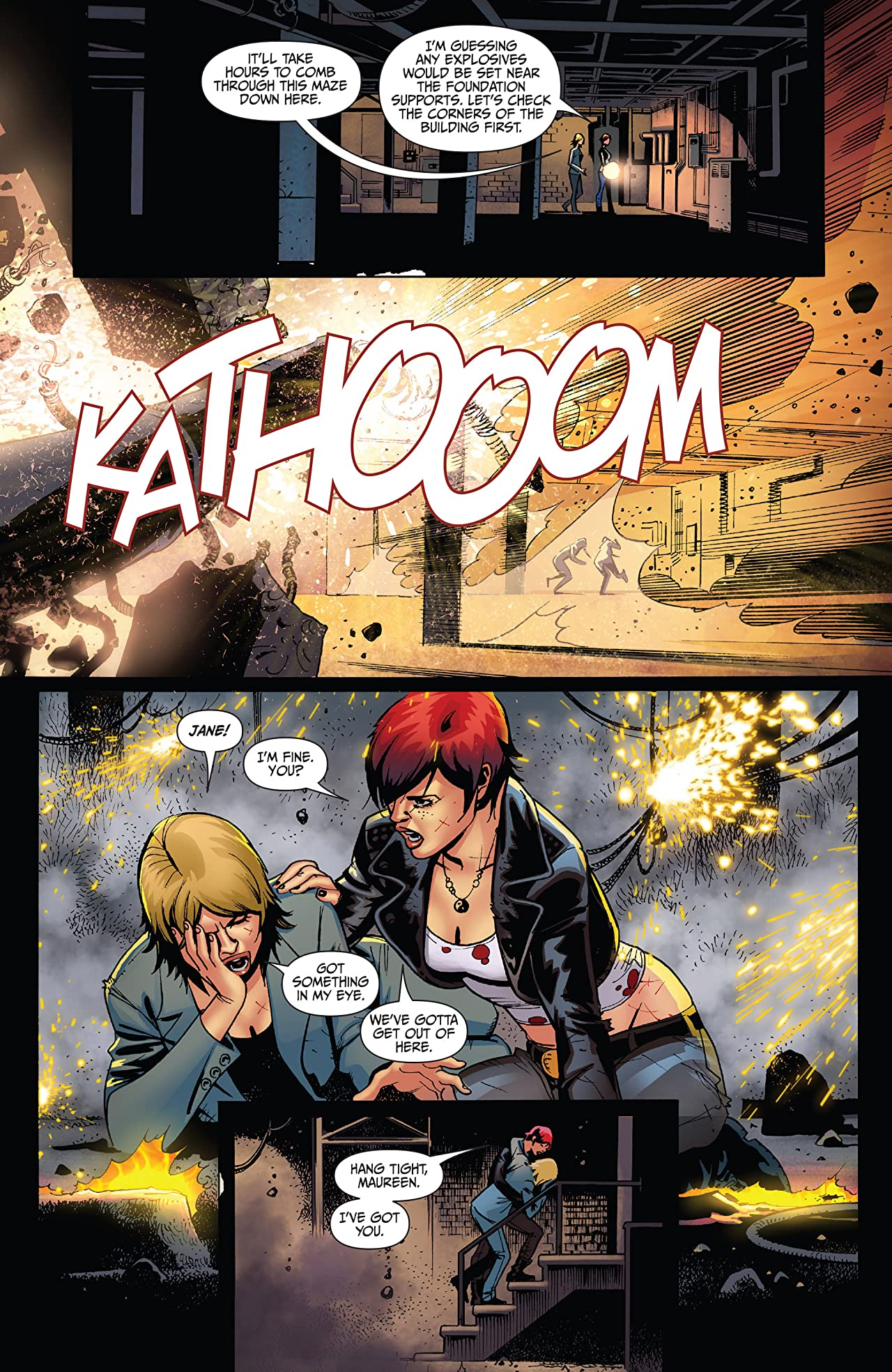 Painkiller Jane: The 22 Brides #2 (of 3)
